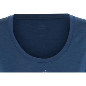 Icebreaker Tech Lite Lancewood t-shirt Dames turquoise